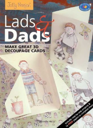 Jolly Nation Lads & Dads 3d Decoupage - 16 Perforated Papers